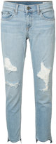 Rag & Bone Marina ripped skinny jeans - women - Cotton/Polyurethane - 25