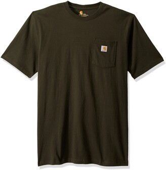 Carhartt Men's Big & Tall K87 Workwear Pocket Short Sleeve T Shirt