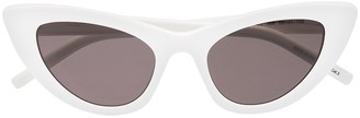 Saint Laurent Eyewear White Lily cat eye sunglasses