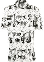Dolce & Gabbana printed pyjama shirt - men - Cotton - 40