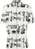 Dolce & Gabbana printed pyjama shirt - men - Cotton - 41