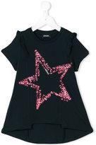 Diesel star ruffle T-shirt