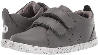 Bobux I-Walk Grass Court Trainer (Toddler) (Smoke) Kid's Shoes