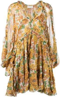 Zimmermann Poppy Frill tiered dress