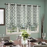 Commonwealth Home Fashions Trellis 63-Inch Grommet Top Tie-Up Window Curtain Panel