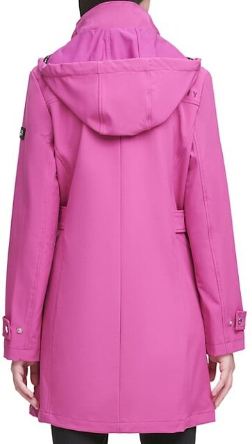 Thumbnail for your product : DKNY Logo Hooded Jacket