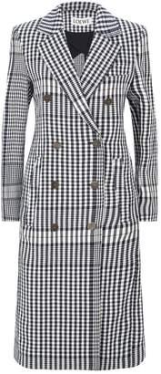 Loewe Check Coat