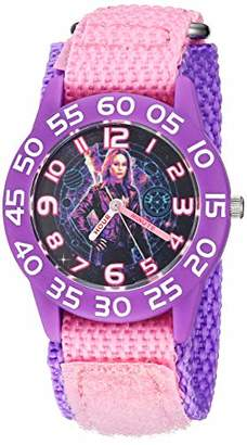 Marvel Girls Captain Analog-Quartz Watch with Nylon Strap