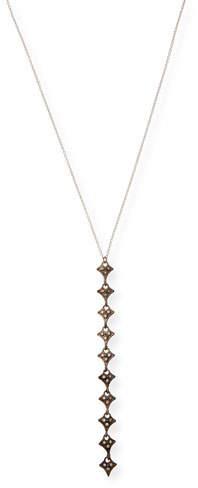 Armenta New World Champagne Diamond Drop Necklace
