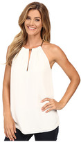 MICHAEL Michael Kors Small Chain Neck Sleeveless Top