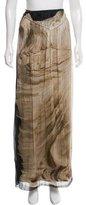 Alberta Ferretti Printed Maxi Skirt