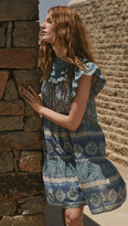 Thumbnail for your product : Sea Margot Border Tiered Dress