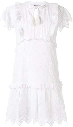 Sea Broderie Anglaise mini dress