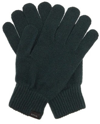 Paul Smith Cashmere-blend Gloves - Mens - Green