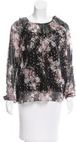 Needle & Thread Gathered Floral Print Blouse