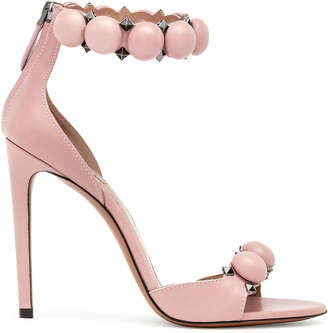 Alaia Dusty pink Bombe sandals