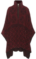 Chloé Knitted Wool And Cashmere Poncho