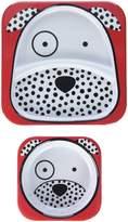 Skip Hop Zoo Melamine Plate & Bowl Set - Dalmatian
