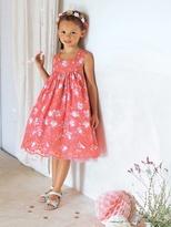 Vertbaudet Girls Printed Occasion Dress