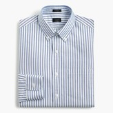 J.Crew Ludlow oxford shirt in blue stripe