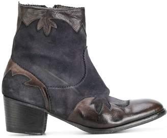 Ink cowboy boots
