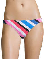 Design Lab Lord & Taylor Striped Textured Hipster