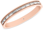 Michael Kors Baguette Crystal Bangle Bracelet, Only at Macy's