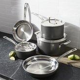 Crate & Barrel Cuisinart ® MultiClad Unlimited TM 8-Piece Cookware Set