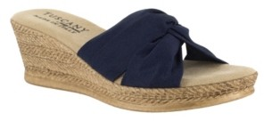 Easy Street Shoes Tuscany by Dinah Wedge Sandals Women's Shoes