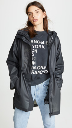 Hunter Vinyl Oversized Raincoat