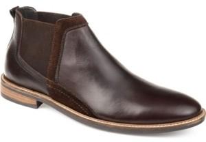Thomas & Vine Men's Beckham Genuine Leather Chelsea Ankle Boot Men's Shoes