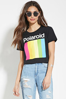 Forever 21 FOREVER 21+ Polaroid Graphic Crop Top