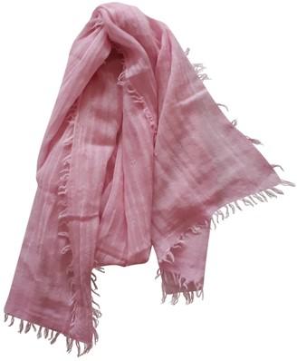 Filippa K Pink Wool Scarves