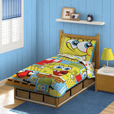 SpongeBob Squarepants Interior Consumer Products Nickelodeon 4 Piece Todder Bedding Set