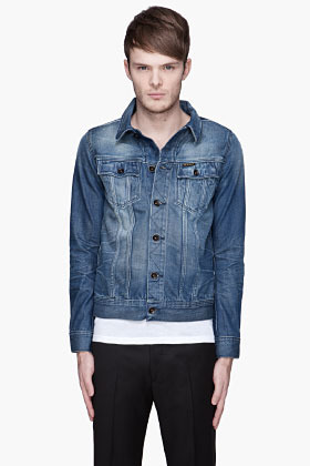 G Star G-STAR Indigo Slim faded denim Jacket