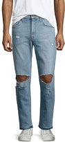 Joe's Jeans Rude Boy Neu Destroyed Denim Jeans, Light Blue