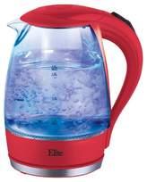 Elite Platinum 1.7 L. Cordless Glass Kettle