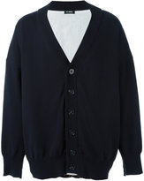 Raf Simons classic cardigan - men - Cotton/Linen/Flax - S