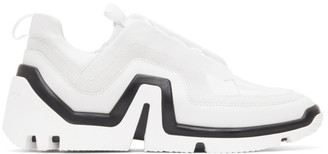 Pierre Hardy White and Black Vibe Low-Top Sneakers