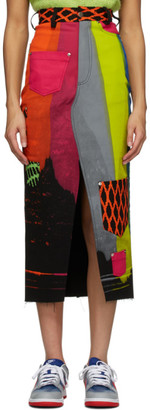 AGR Multicolor Pocket Skirt