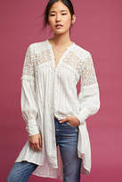 FeatherBone Pintucked Lace Tunic