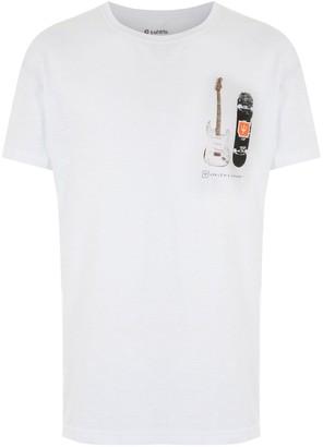 OSKLEN guitar-print cotton T-shirt