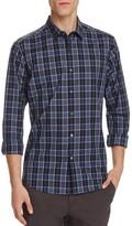 Theory Zack Plaid Domingo Slim Fit Button-Down Shirt