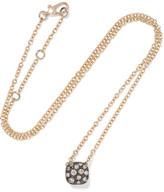 Pomellato Nudo 18-karat Rose Gold Diamond Necklace - one size
