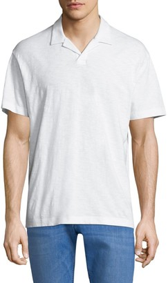 Theory Short-Sleeve Cotton Polo