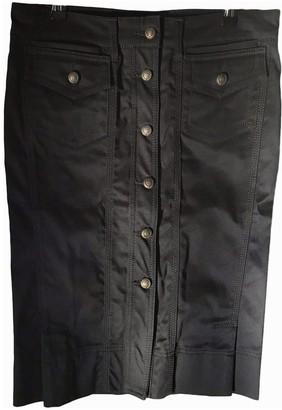 Just Cavalli Black Cotton - elasthane Skirt for Women
