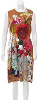 Dries Van Noten Silk Coated Dress