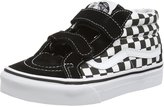 Vans Kids Sk8-Mid Reissue V Black/True White Skate Shoe 3 Kids US