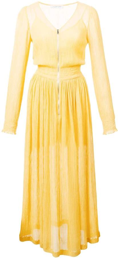 Jill Stuart crepe skater dress