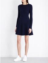 Mo&Co. Textured wool dress